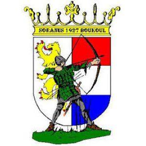 Logo Handboog vereniging Soranus-Boukoul