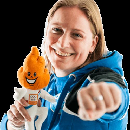 afbeeling Pauline Schrooten van iedereen kan sporten midden limburg