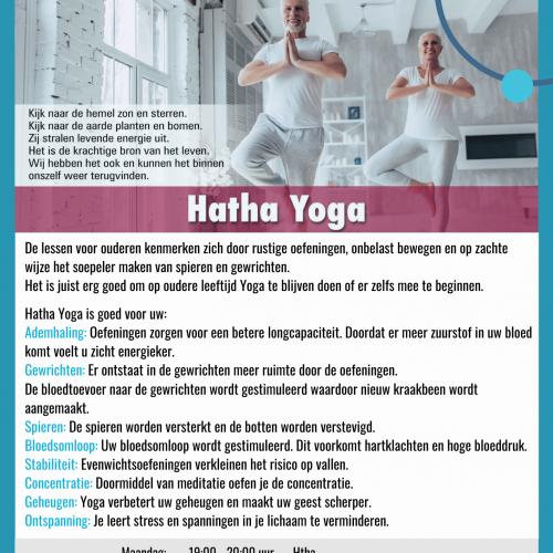 Flyer Hatha Yoga