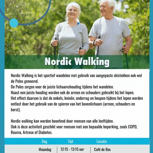Flyer Nordic Walking
