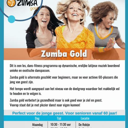 flyer Zumba Gold