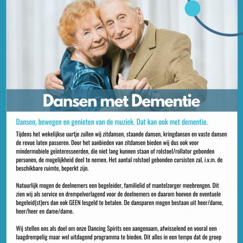 Flyer Dansen met Dementie (voorkant)